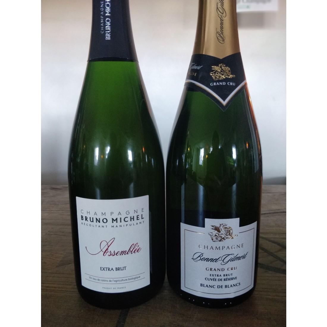 Pakke 2 Extra brut champagner-34