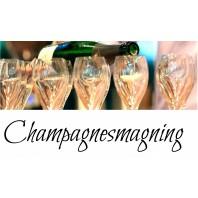 Champagnesmagning i Århus lørdag den 14 september kl. 19.00-20
