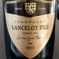 """Lancelot Fils """"Sur Les Gros Monts"""" 2015 Grand Cru-20"""